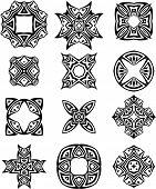 foto of henna tattoo  - Tribal Tattoo Design Vector Art - JPG