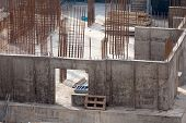 Постер, плакат: Construction of an apartment house