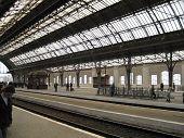 Railway Station In Lvov (Ukraine)