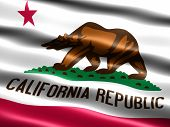 Flag Of The State Of California