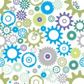Seamless cogs background