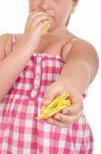Girl Offering Chips