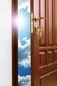 Doorway to heaven. Conceptual design.