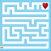 Small vector maze