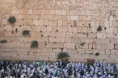 The Wailing Wall (western wall) , Jerusalem, Israel
