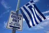 picture of jock  - Parking at the Greek cultural festival  - JPG