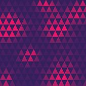 triangle pattern, vector illustration