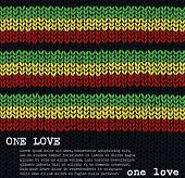 ONE LOVE vector jumper