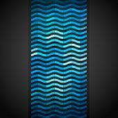 Abstract shiny mosaic banner, vector eps8 illustration