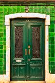 Green Old Door