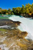 Waterfall Manavgat At Turkey