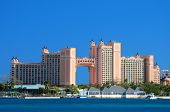 NASSAU - JANUARY 1: Atlantis Paradise Island January 1, 2012 in Nassau, Bahamas. The bridge suite lo