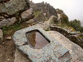 Inca astronomical water mirror