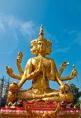Brahma statue in Thailand