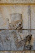 Ancient Bas-Reliefs Of Persepolis, Iran