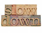 Slow Down -lifestyle Concept