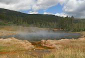 Hot Lake im Yellowstone-Nationalpark