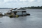 House In Floating Village