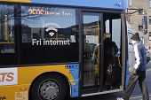 Dänemark route 350 gratis internet