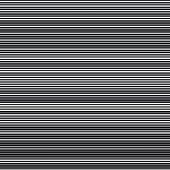 Horizontal Straight Lines With  The Gray:black (thickness) Ratio Equal With 5:3 Fibonacci Ratio (the poster