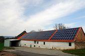 Barn With Solar Panels