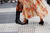 Folkloric Dancers In Argentina
