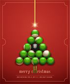 image of snooker  - Merry Christmas - JPG