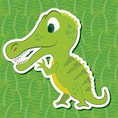Cute Dinosaur Sticker
