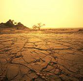 paisagem seca