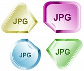 Jpg. Stickers. Raster illustration. Vector version is in my portfolio.