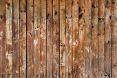 Grunge wooden batten texture