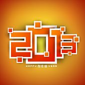 2013 Happy New Year background. EPS 10
