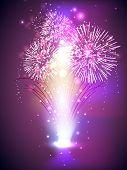 Fuego fondo galletas para la celebración de festival de Diwali en la India. EPS 10.