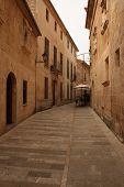 Authentic Spanish Street Scene