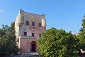 Tower of Markellos at Aegina, Greece