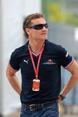 David Coulthard Driver Of Red Bull F1 Racing Team