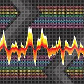 Graphic Audio Waveform