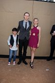 LOS ANGELES - JUL 29:  Blake Garrett Rosenthal, Spencer Daniels, Sadie Calvano arrives at the 2013 C