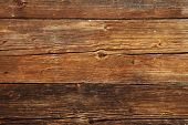 Old wooden wall assembled of boards