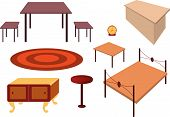 Vector Furniture Set