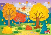 Autumn thematic image 5 - eps10 vector illustration.