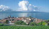 Cully,Lake Geneva,Switzerland