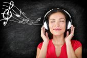 stock photo of blackboard  - Music  - JPG