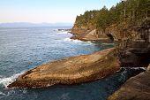 Cape Flattery, Washington Rocks And Caves