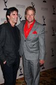 Vincent Irizarry and Kin Shriner at the Daytime Emmy Nominees Reception presented by ATAS, Montage B