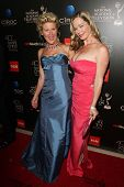 Alley Mills and Jennifer Gareis at the 40th Annual Daytime Emmy Awards, Beverly Hilton Hotel, Beverl