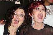 Sara Gilbert, Sharon Osbourne at the 40th Annual Daytime Emmy Awards, Beverly Hilton Hotel, Beverly