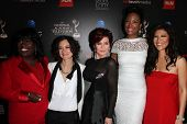 Sheryl Underwood, Sara Gilbert, Sharon Osbourne, Aisha Tyler and Julie Chen at the 40th Annual Dayti