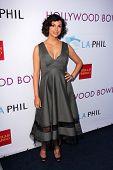 Morena Baccarin at the Hollywood Bowl Hall of Fame Opening Night, Hollywood Bowl, Hollywood, CA 06-22-13