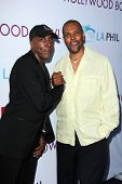 Arsenio Hall and Eriq La Salle at the Hollywood Bowl Hall of Fame Opening Night, Hollywood Bowl, Hol